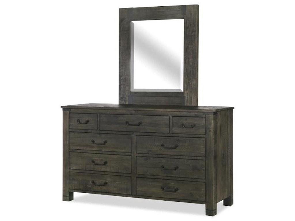 Magnussen Home AbingtonDresser and Mirror Set