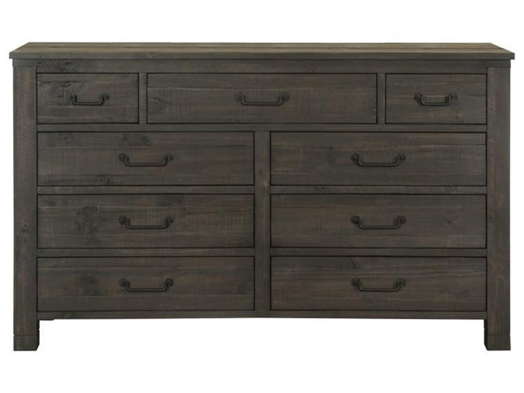 Magnussen Home Abington9 Drawer Dresser