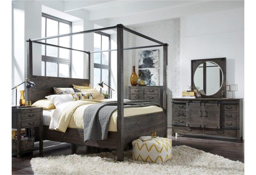 Magnussen Home Abington Sliding Door Dresser With Adjustable Shelf Stoney Creek Furniture Dressers