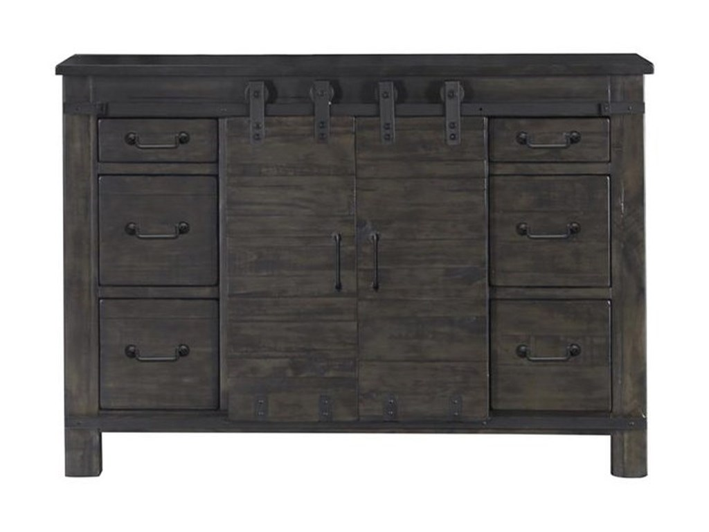 Magnussen Home Abington6 Drawer Media Chest