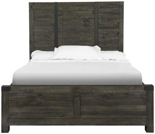 Magnussen Home Abington King Wood Panel Bed