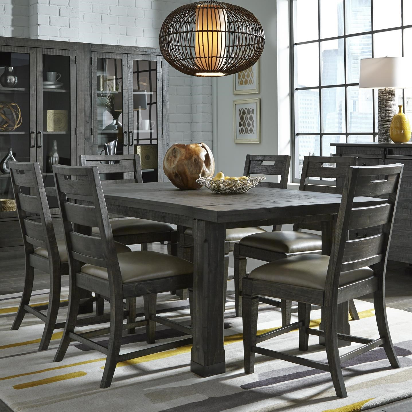 Magnussen Home Abington7 Pc Dining Set ...