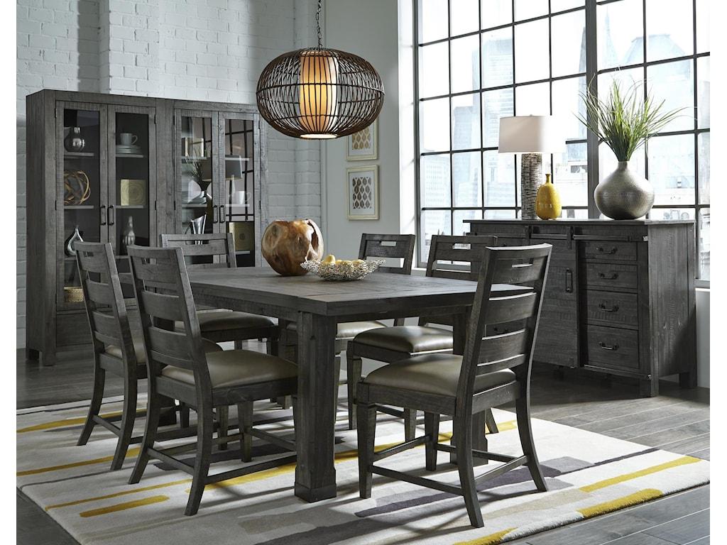 Magnussen Home Abington7 Pc Dining Set