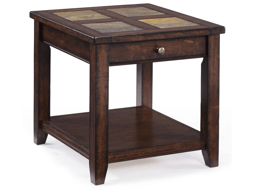 Magnussen Home AllisterRectangular End Table