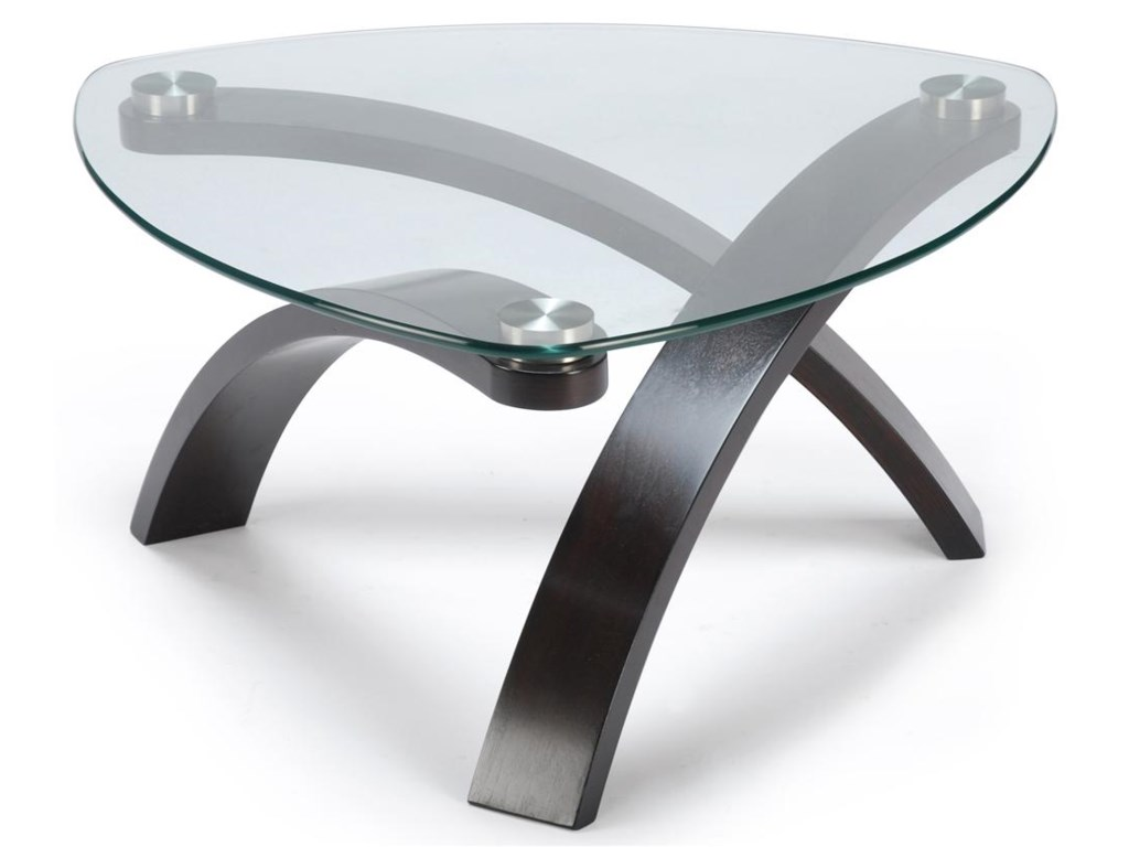 Magnussen Home AllurePie Shaped Cocktail Table