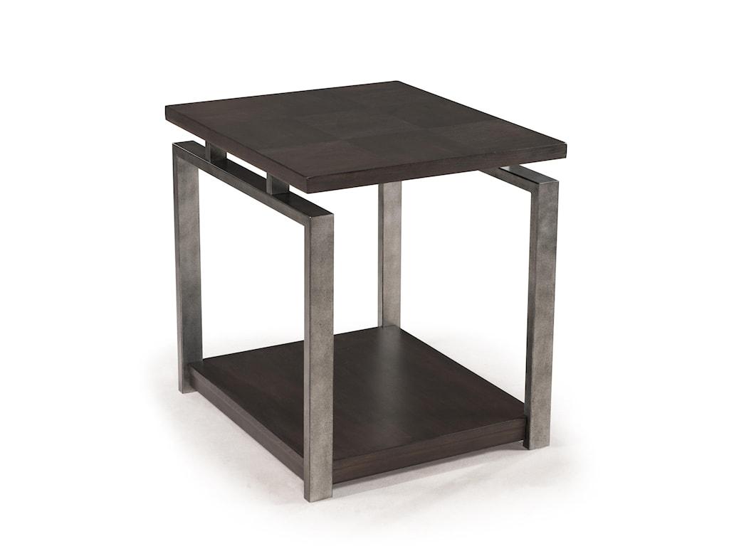 Morris Home Furnishings FlatstoneFlatstone Rectangular End Table