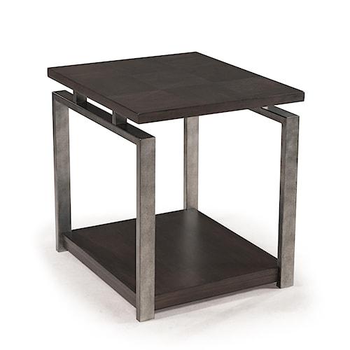 Magnussen Home Alton Contemporary Rectangular End Table