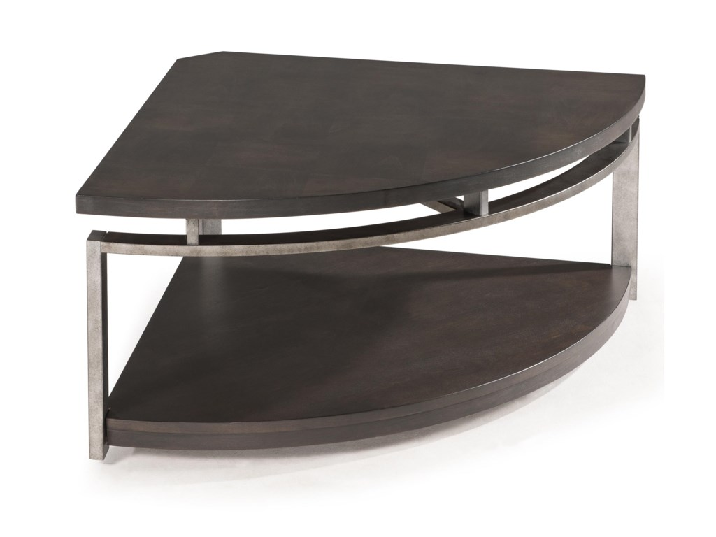 Magnussen Home AltonPie-shaped Cocktail Table