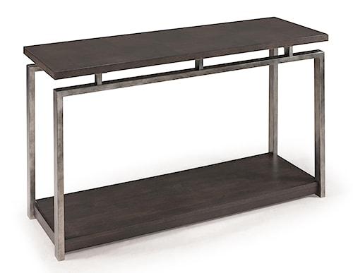 Magnussen Home Alton Contemporary Rectangular Sofa Table