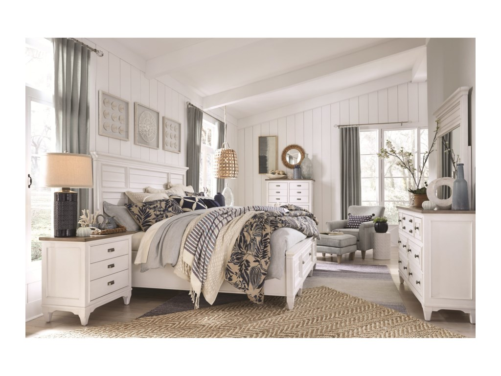 Magnussen Home Alys BeachKing Bedroom Group