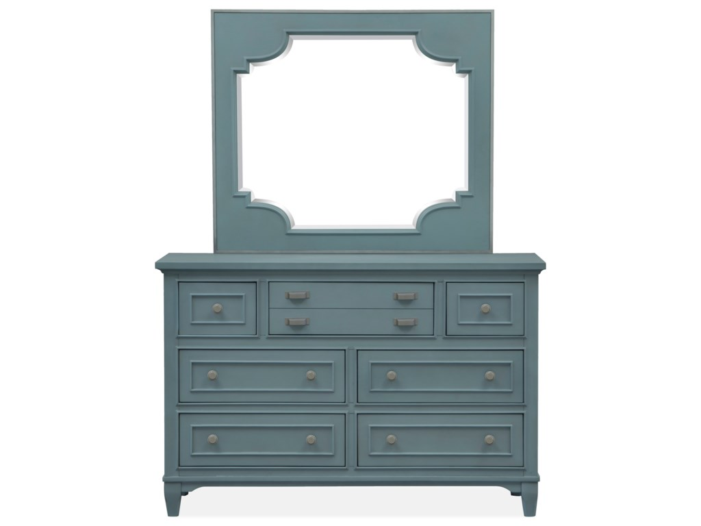 Magnussen Home Alys BeachDresser and Mirror Set