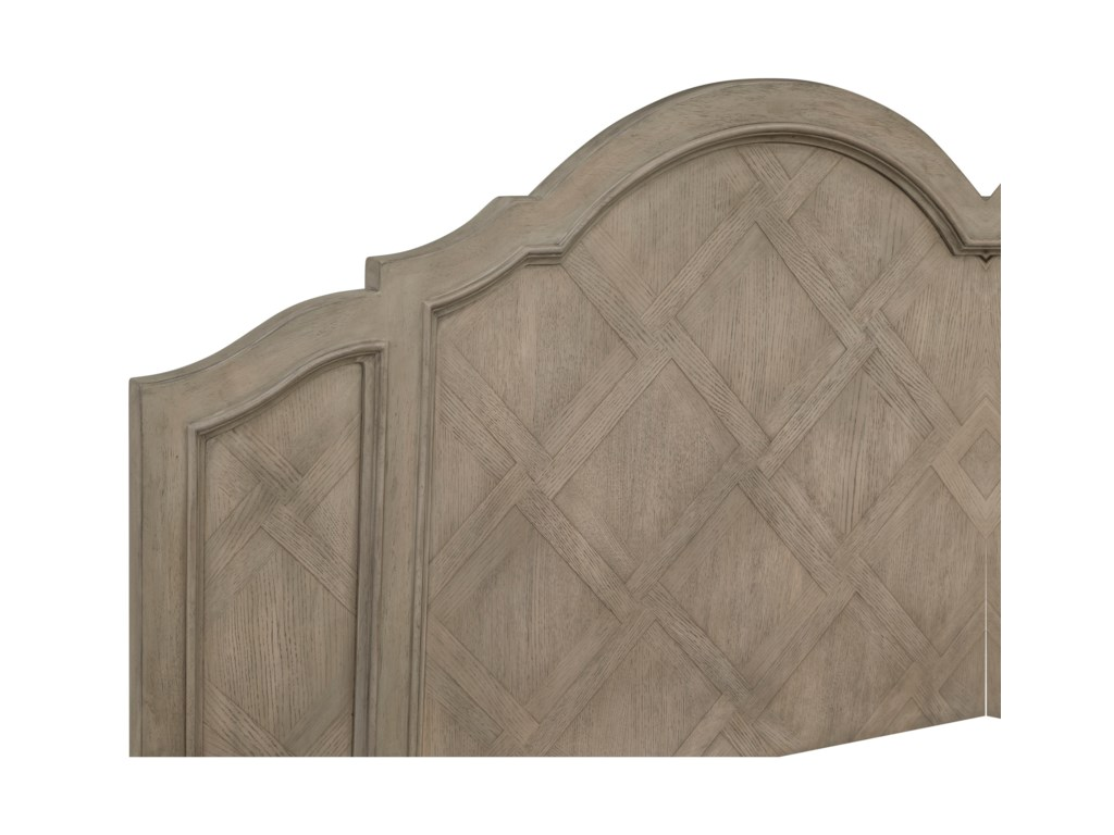 Magnussen Home Alys BeachKing Shaped Panel Bed