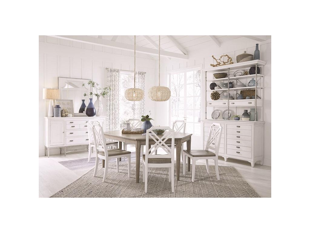 Magnussen Home Alys BeachHexagonal Dining Table