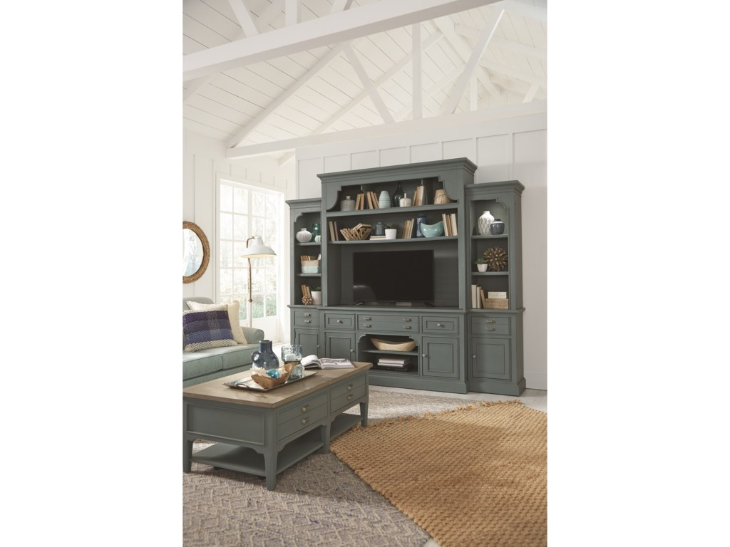 Magnussen Home Alys BeachEntertainment Wall Unit