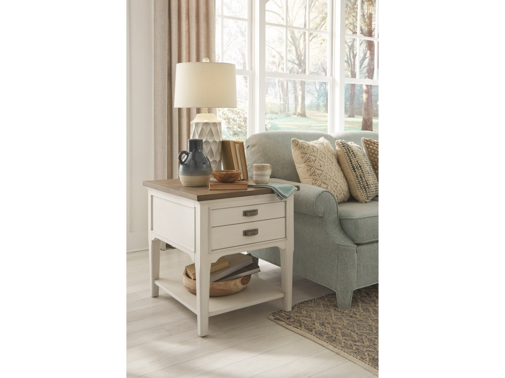 Magnussen Home Alys BeachEnd Table