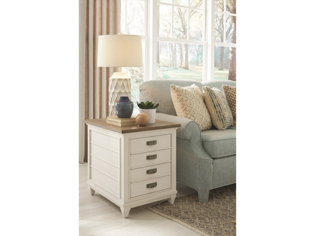 Magnussen Home Alys BeachChairside End Table