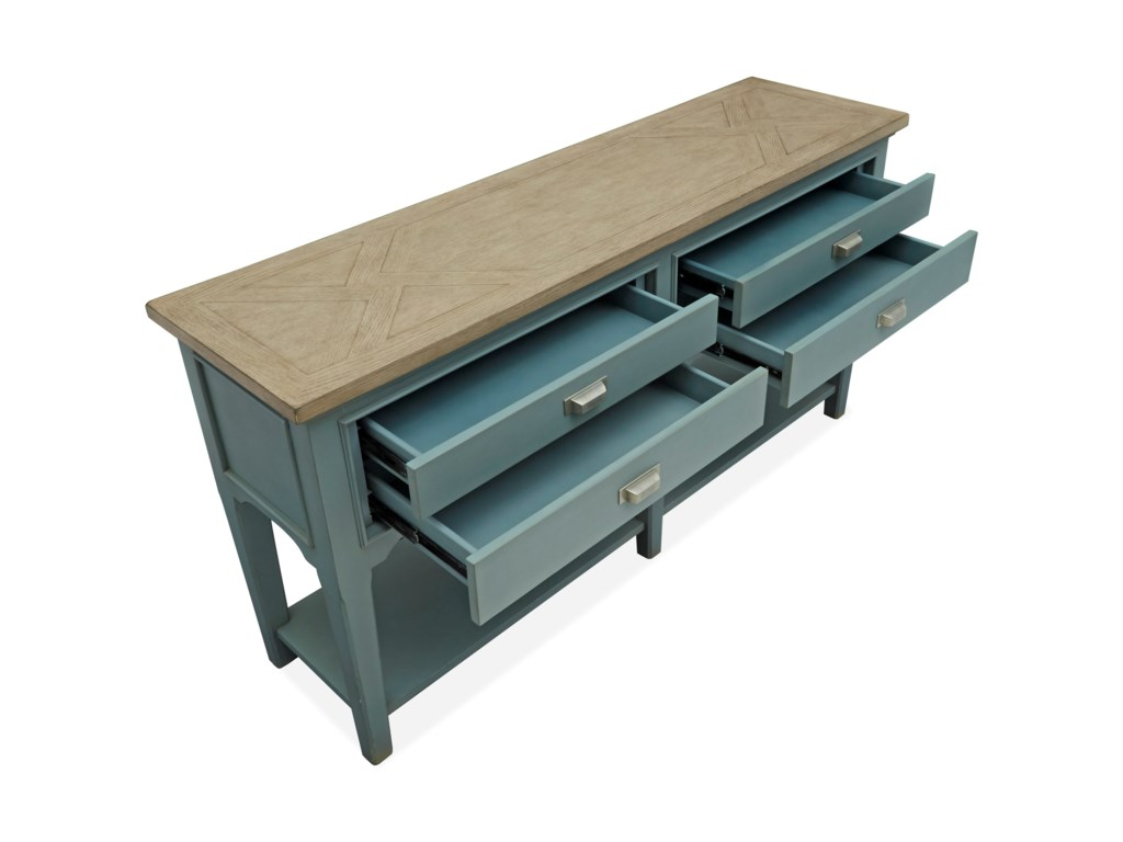 Magnussen Home Alys BeachSofa Table