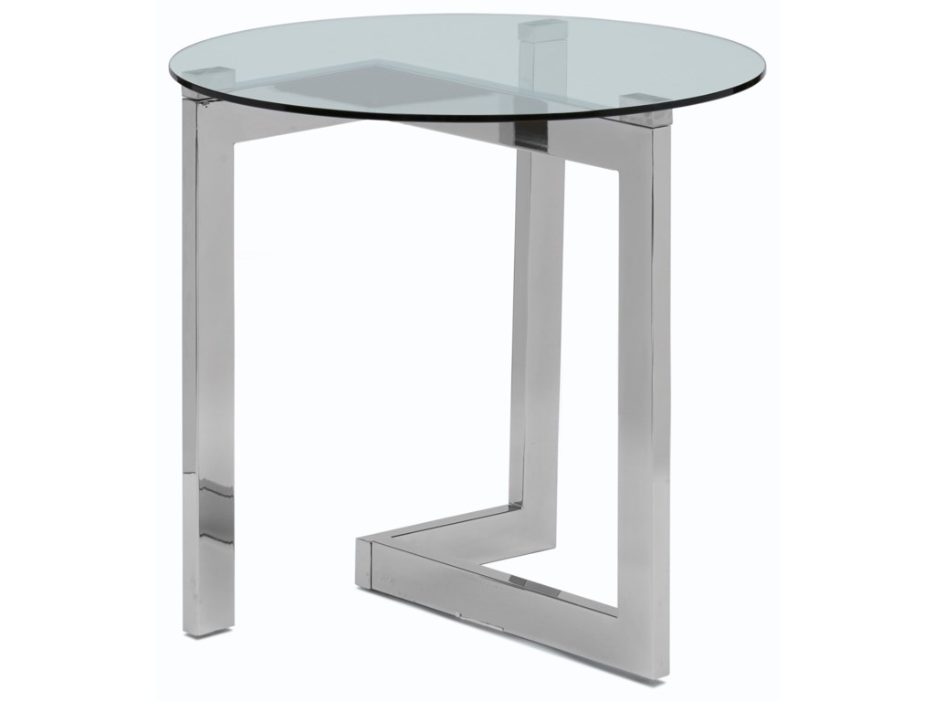 Magnussen Home AriesRound End Table