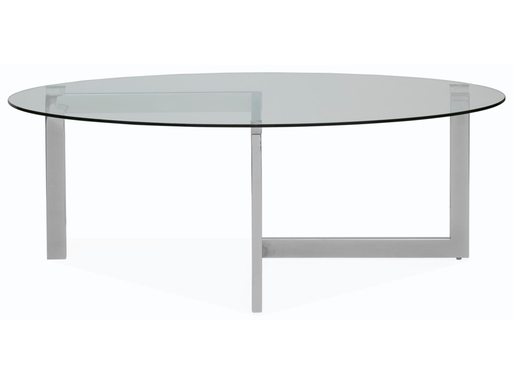 Magnussen Home AriesOval Cocktail Table