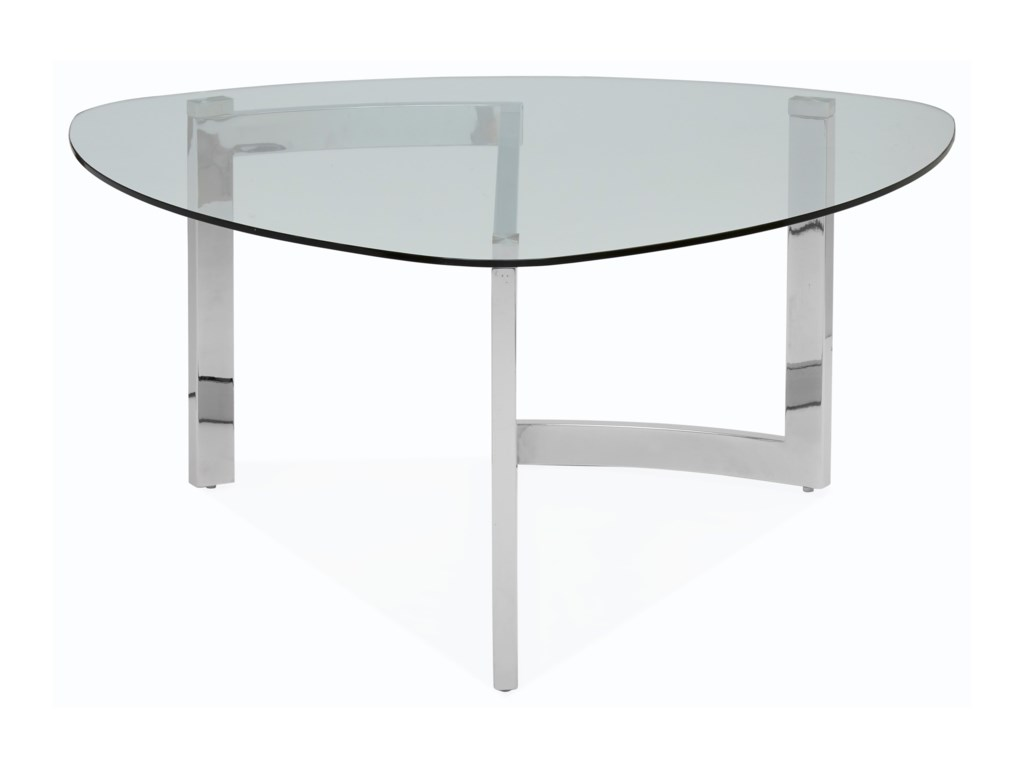 Magnussen Home AriesShaped Cocktail Table