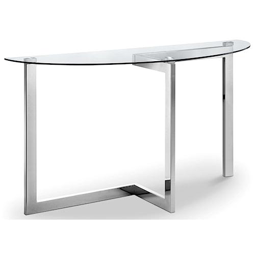Magnussen Home Aries Demilune Sofa Table