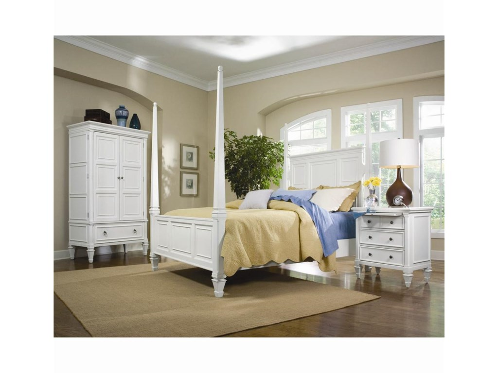 Shown with Armoire and Poster Bed