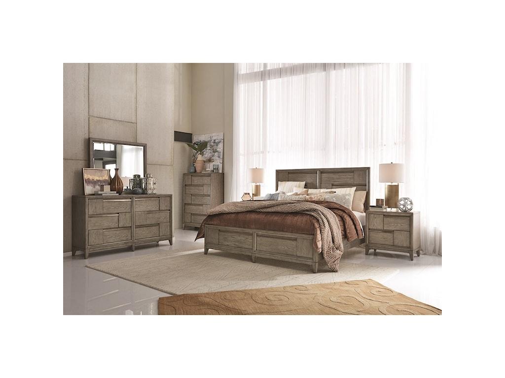 Magnussen Home AtelierQueen Panel Bed