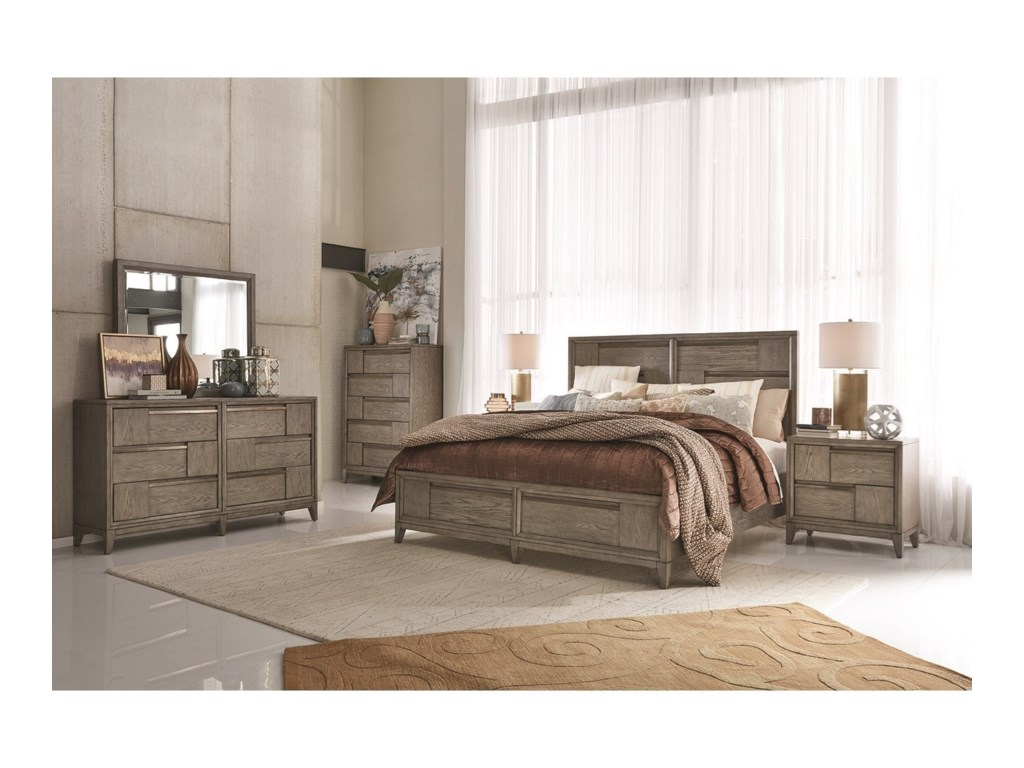 Magnussen Home AtelierKing Panel Storage Bed