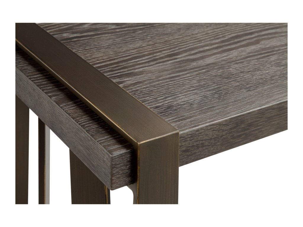 Magnussen Home AvistonRectangular Cocktail Table with Casters