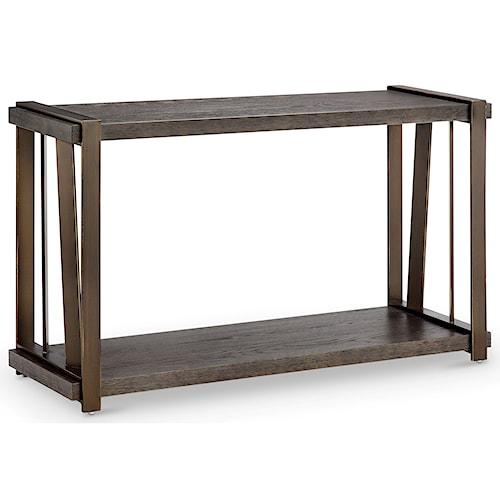 Magnussen Home Aviston Rectangular Sofa Table with Shelf