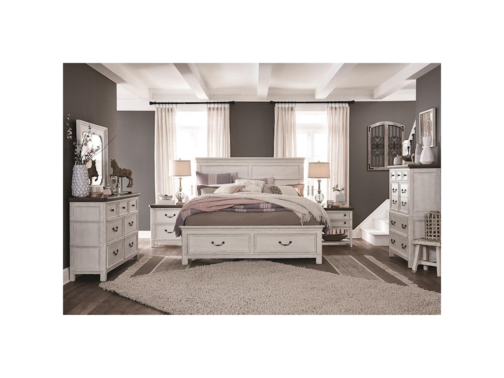 Magnussen Home Bellevue ManorKing Bedroom Group