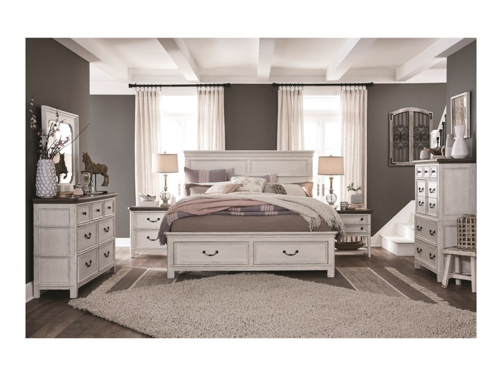 Magnussen Home Bellevue ManorQueen Panel Headboard