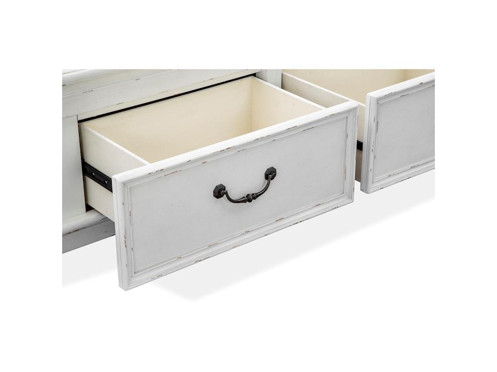 Magnussen Home Bellevue ManorQueen Panel Storage Bed