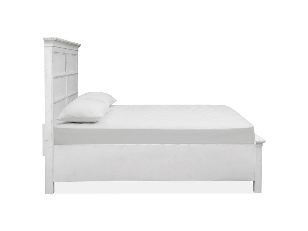 Magnussen Home Bellevue ManorCalifornia King Panel Storage Bed