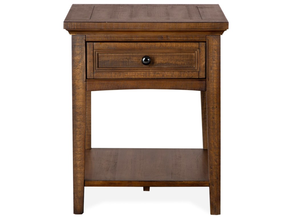 Magnussen Home Bay CreekEnd Table