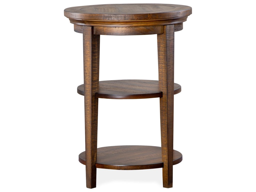 Magnussen Home Bay CreekRound Accent Table