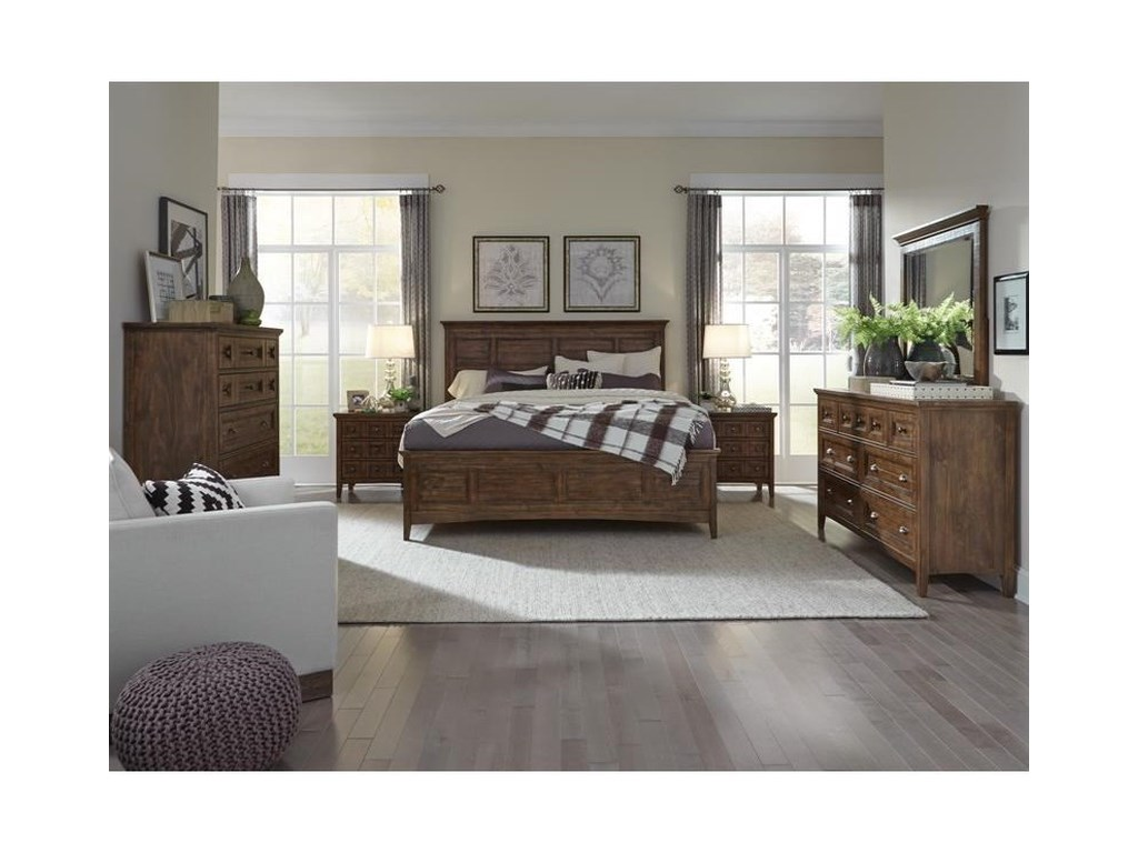 Magnussen Home Bay CreekKing Storage Bedroom Group