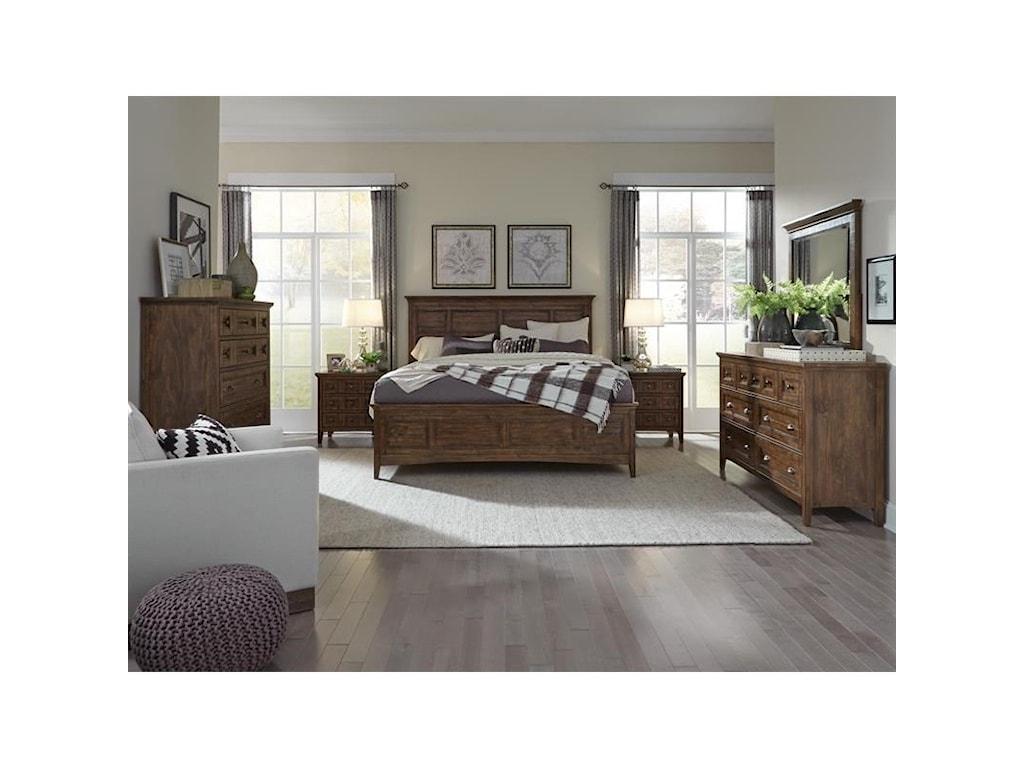 Magnussen Home Bay CreekKing Bedroom Group