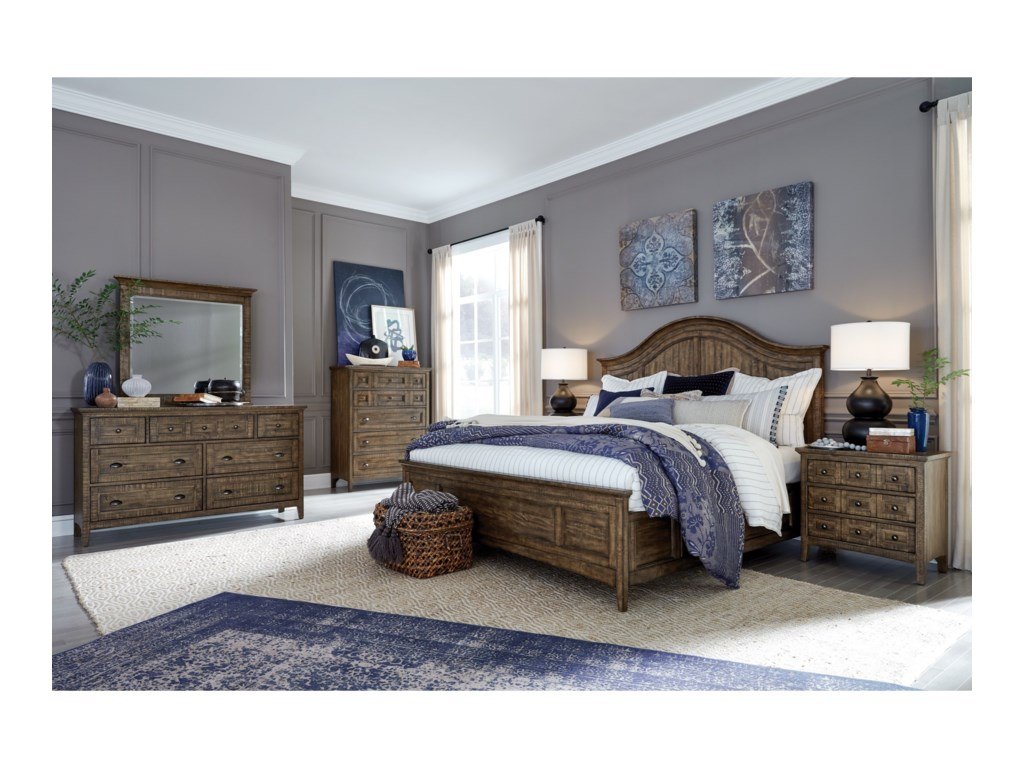 Magnussen Home Bay CreekQueen Bedroom Group