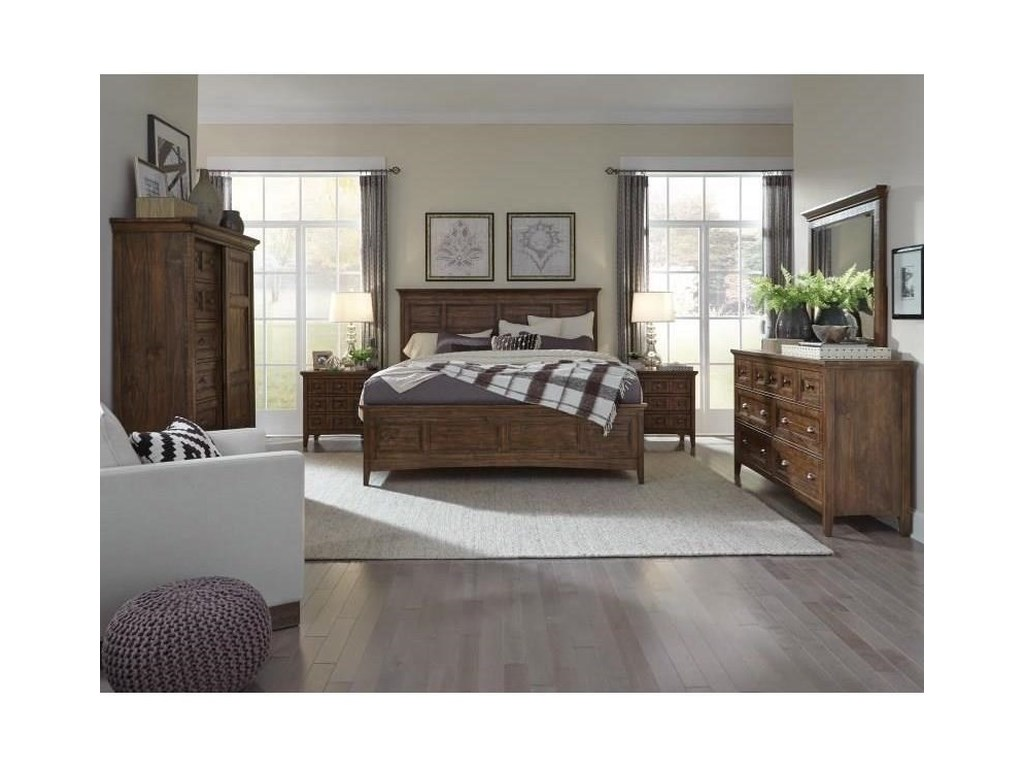 Magnussen Home Bay CreekQueen Panel Bed