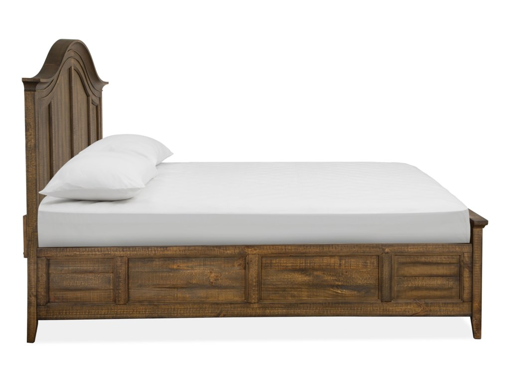 Magnussen Home Bay CreekQueen Arched Bed