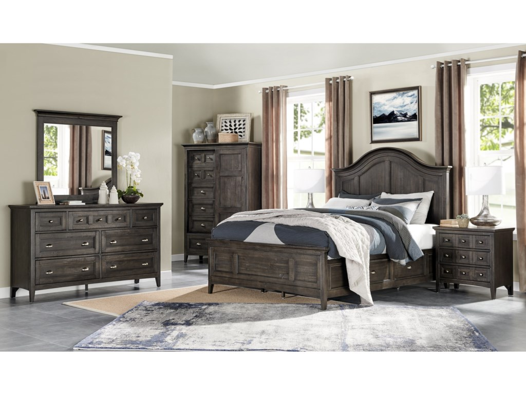 Magnussen Home Westley FallsQueen Arched Bed
