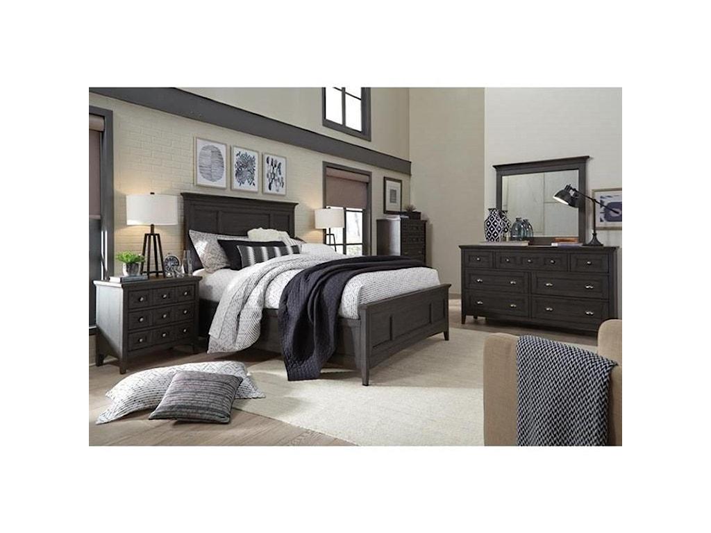 Magnussen Home Westley FallsCalifornia King Panel Bed