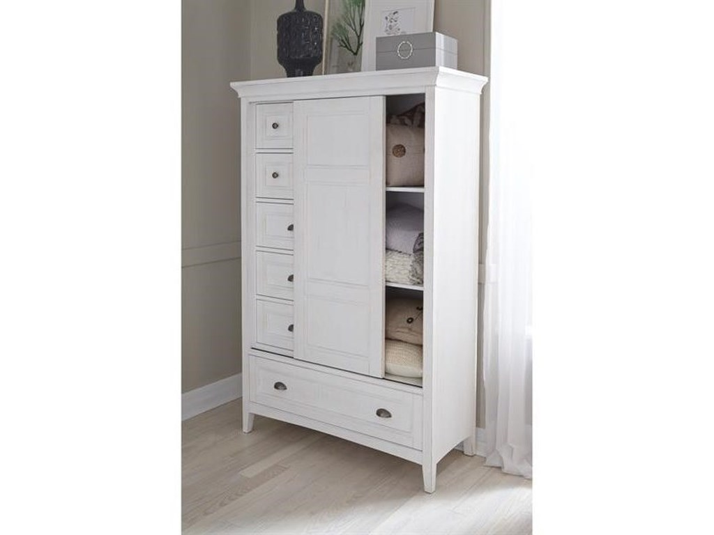 Magnussen Home Heron CoveCal King Storage Bedroom Group