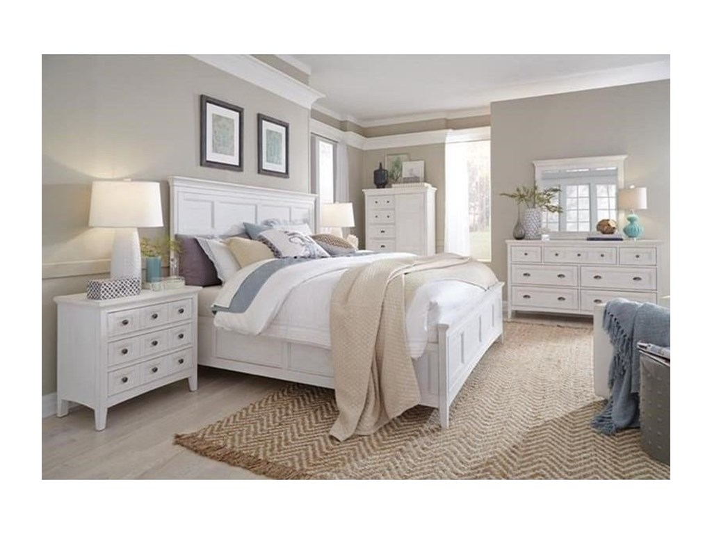 Magnussen Home Heron CoveQueen Panel Bed