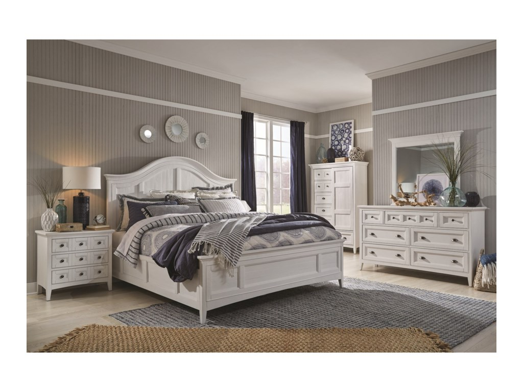 Magnussen Home Heron CoveKing Arched Bed