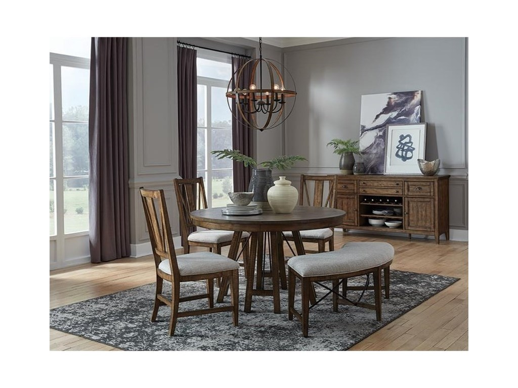 Magnussen Home Bay CreekDining Side Chair w/ Upholstered Seat