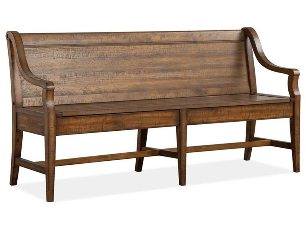 Magnussen Home Bay CreekBench w/Back