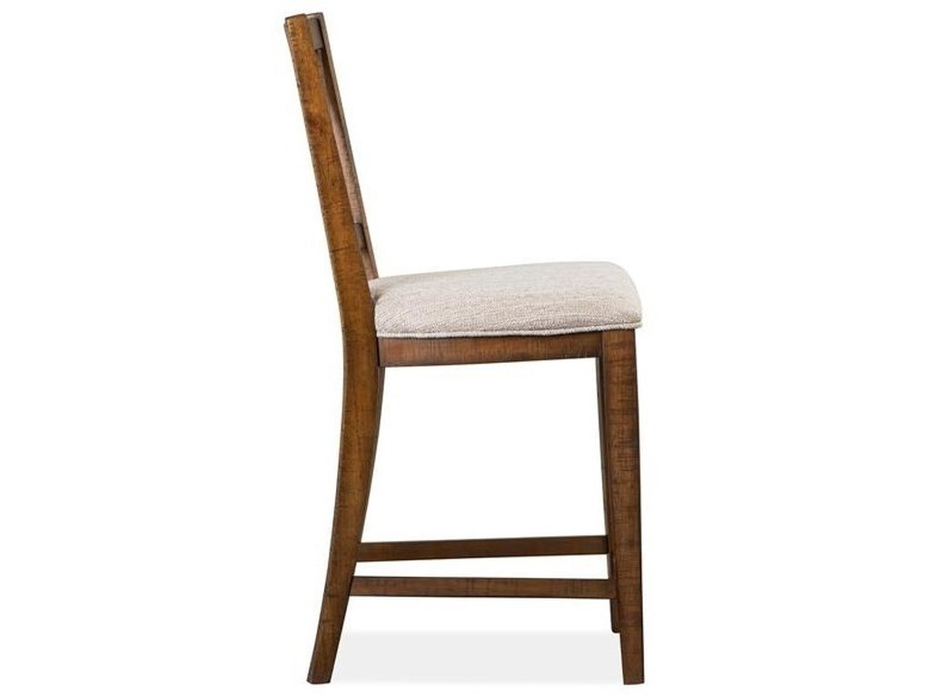 Magnussen Home Bay CreekCounter Chair w/ Upholstered Seat