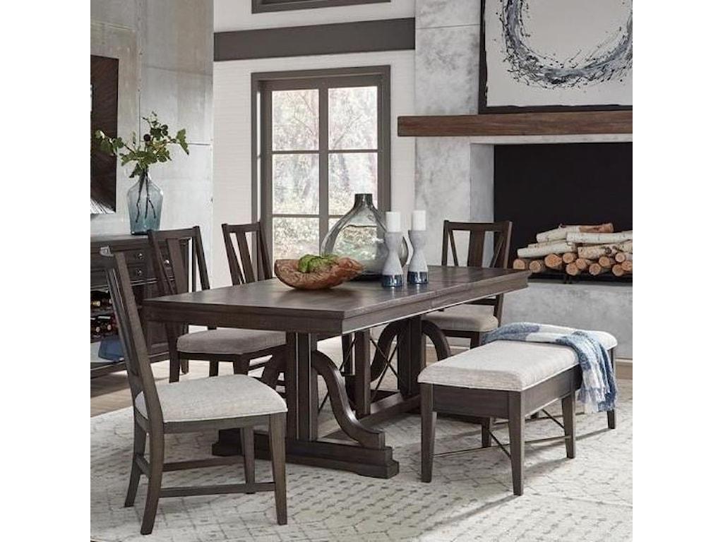 Magnussen Home Westley Falls6-Piece Dining Set w/ Bench